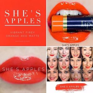 She's Apples (Warm/Matte) LipSense by SeneGence